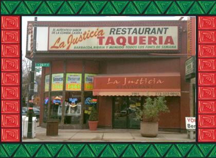 Mexican Restaurant Chicago Food La Justicia Catering